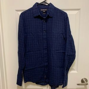 "Men's ""Michael Kors"" small long sleeve shirt."